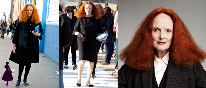 Mujeres de moda Grace Coddington