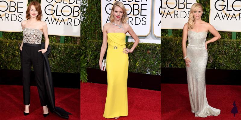 Vestidos Golden Globe