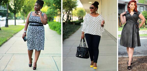 Moda Plus Size Estampados