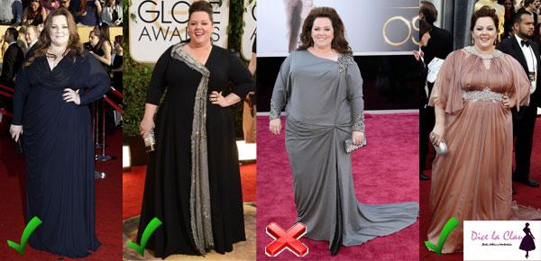 Moda plus size Melissa McCarthy