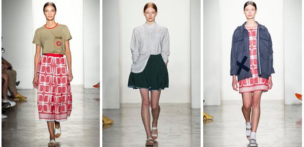 Ostwald Helgason elige más color. Prendas amplias y desordenadas son la clave de su colección. No lo olvides: los zapatos planos son el must have de la tendencia.