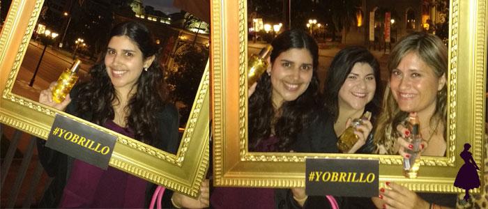 Con algunas de mis amigas blogueras, Lulú y Carolina.