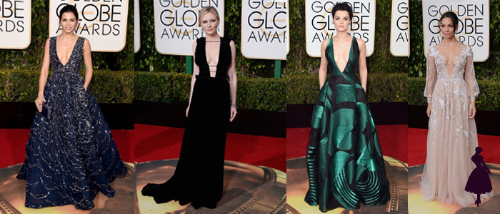 Golden Globe 2016 Escote