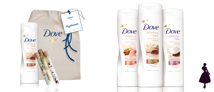 Dove Delicious Care Cremas