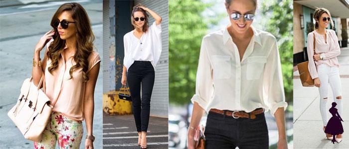 outfits para la universidad blusas