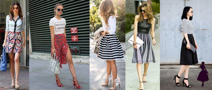 outfits para la universidad faldas