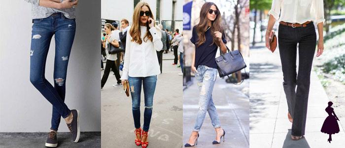 Prendas de transición jeans