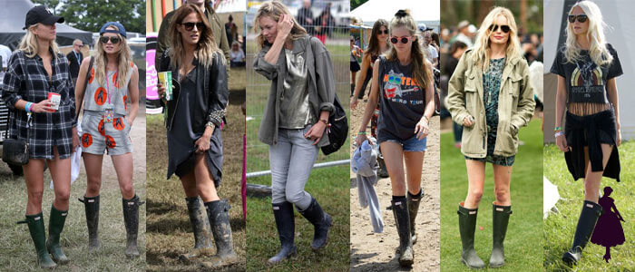 Botas Hunter Glastonbury