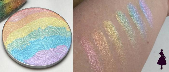 Iluminador de arcoiris prism