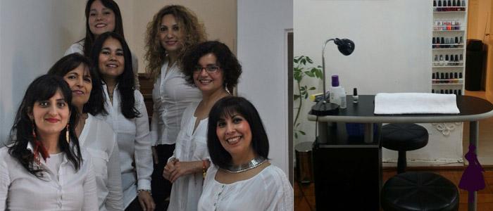 Mujeres con cáncer equipo