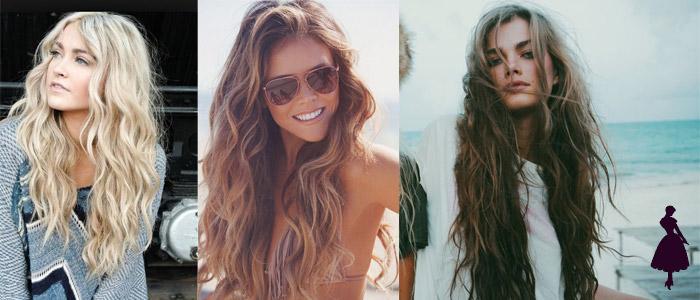 Tendencias en cabello ondas naturales