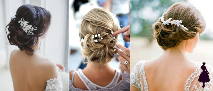 Peinados para novias recogidos