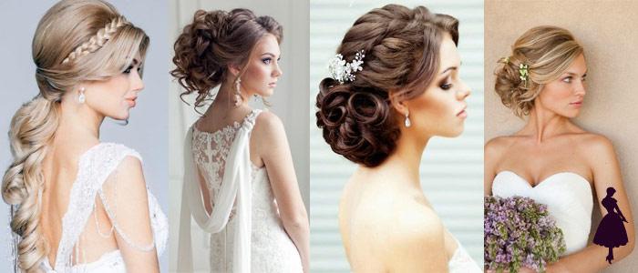 Peinados para novia varios
