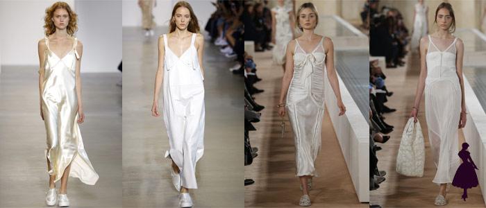 Calvin Klein y Balenciaga para su colección Spring 2016.