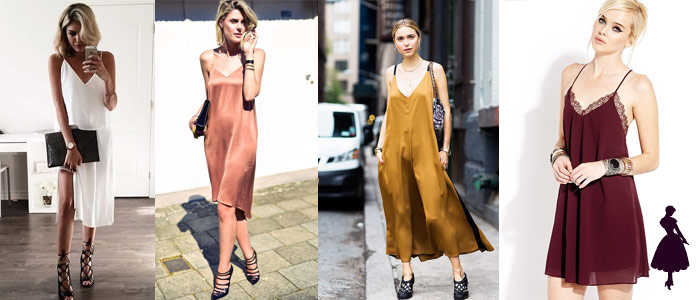 Slip Dress Vestidos