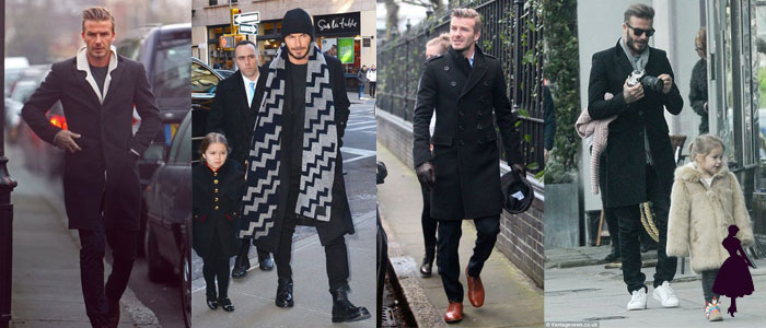 David Beckham Abrigos