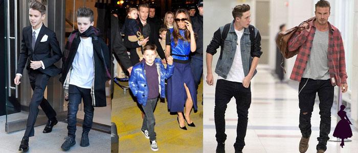 David Beckham Familia