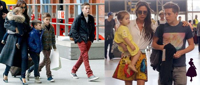 David Beckham Hijos