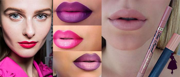 Delineadores de labios Ombre