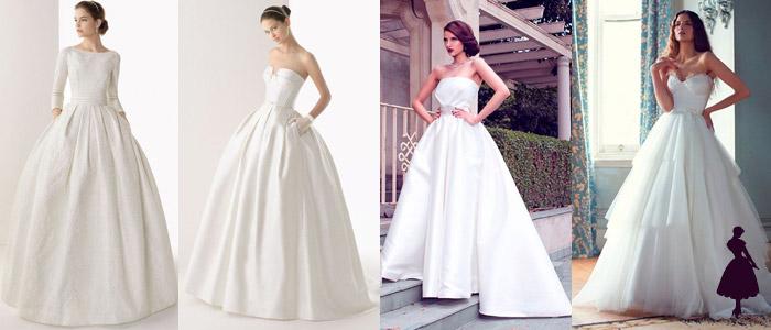 Tipos de vestidos de novia Ball Gown
