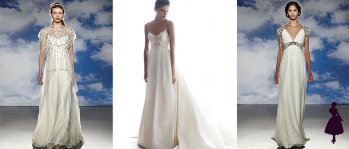 Tipos de vestidos de novia Imperio