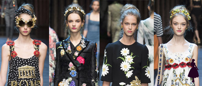 Moño texturizado Dolce Gabbana