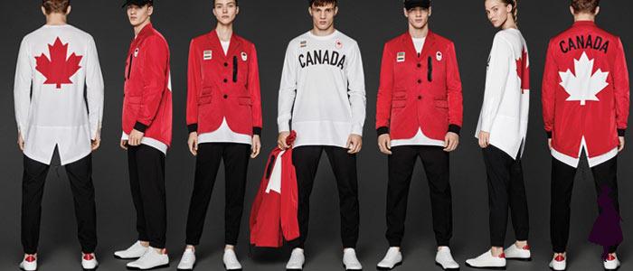 Uniformes de los Juegos Olímpicos Canadá
