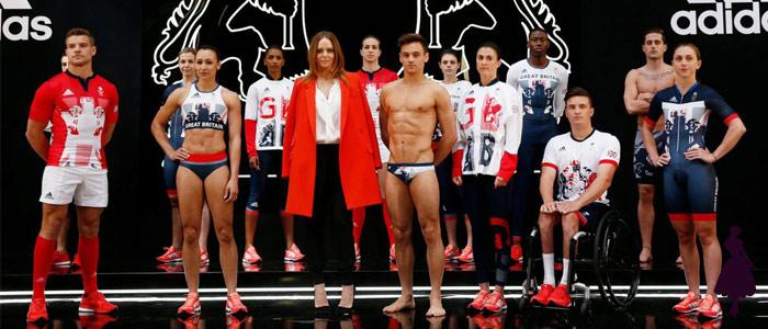 Uniformes de los Juegos Olímpicos Inglaterra