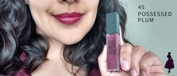 Vivid Matte Liquid Possessed Plum