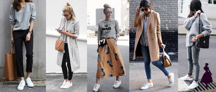 White Sneakers Tendencias
