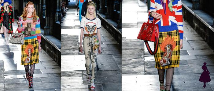 Moda Felina Gucci Woman