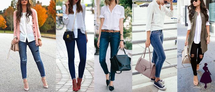 Blusa Blanca jeans