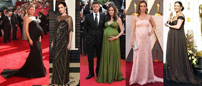 Embarazadas en la alfombra roja celebridades