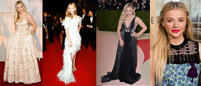Estilo under 21 Chloe Moretz Formal