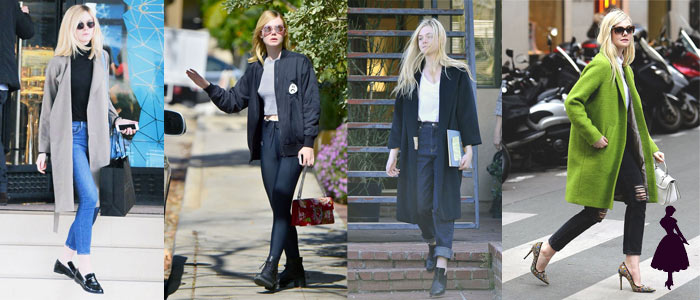 Estilo under 21 Elle Fanning Casual