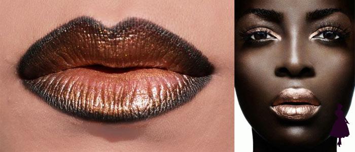 Labios Metalizados brillantes