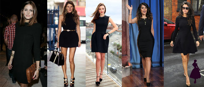 Little black dress celebridades