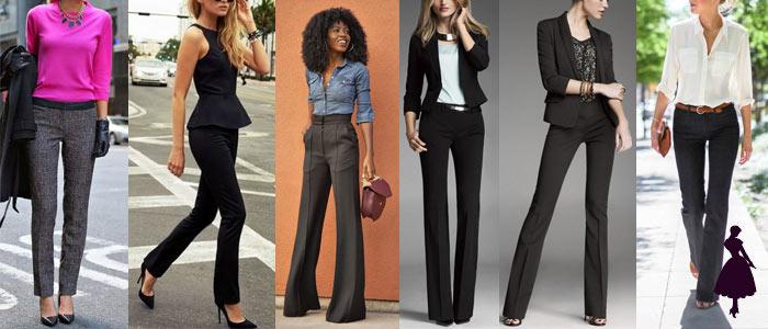 Pantalón de vestir varios
