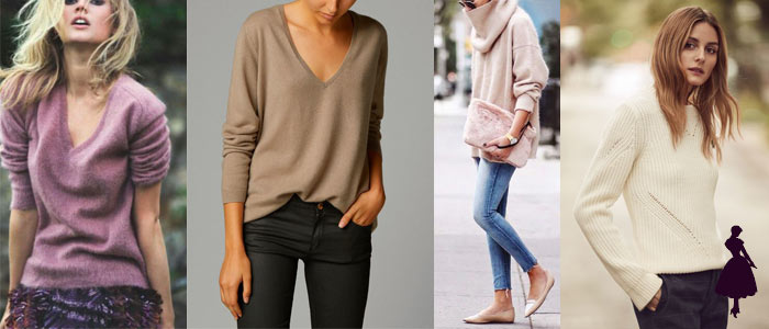 Sweater de cachemira outfits
