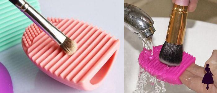 Cuidar el maquillaje brochas