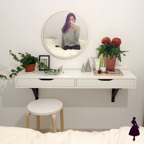 Ideas de tocador para inspirarse y tener un espacio nico dice la clau - Tocador moderno dormitorio ...