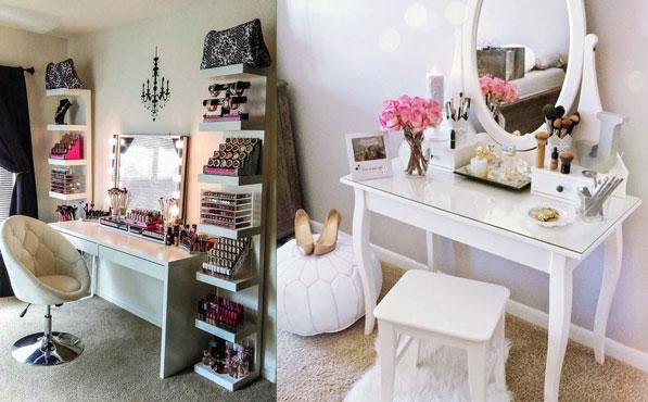 Ideas de tocador para inspirarse y tener un espacio nico for Espejo tocador ikea