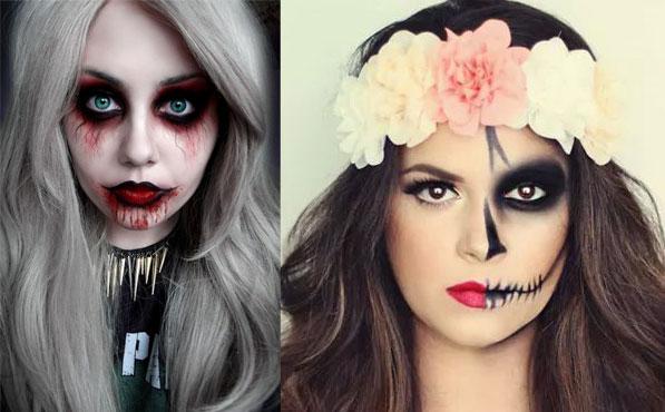 Maquillajes Para Halloween Para Imitar - Maquillaje-halowin