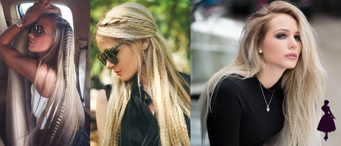 Crimped Hair looks