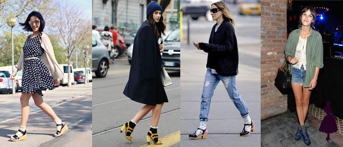 Medias con sandalias Socks
