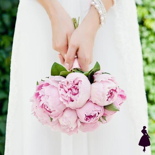 Ramos de novia Peonías