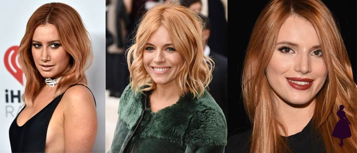 Strawberry Blonde Celebridades