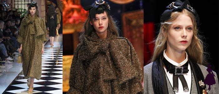 Vestuario con lazos Dolce Gabbana