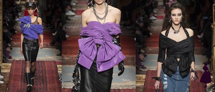 Vestuario con lazos Moschino