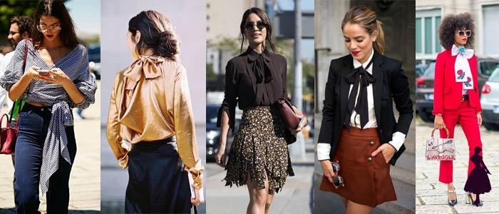 Vestuario con lazos Outfits